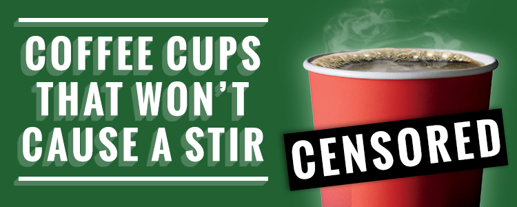Coffee Cups That Won't Cause A Stir