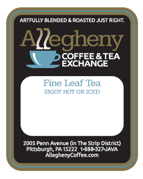 Allegheny Coffee Label