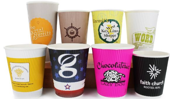 Some of our favorite customized coffee cups.
