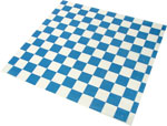 Blue Check Design Wax Basket Liner 12 x 12