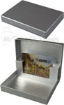 Silver Ultra Gloss Design Presentation Pop-Up Gift Card Boxes
