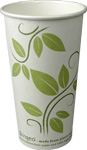20 oz. EarthGuard Compostable PLA Lined Paper Coffee Cups