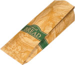 Fresh Bread, Small Loaf Paper Bread Bags - 5 x 4 x 14