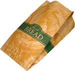 Fresh Bread, Large Loaf Paper Bread Bags - 9 x 6 x 16
