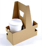2 Cup Drink Carriers - 8 x 3.63 x 10.25