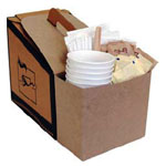 Condiment Carriers for 96 oz. Bulk Beverage Carriers