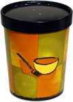 32 oz. Streetside Soup Container with Black Paper Vented Lids INCLUDED