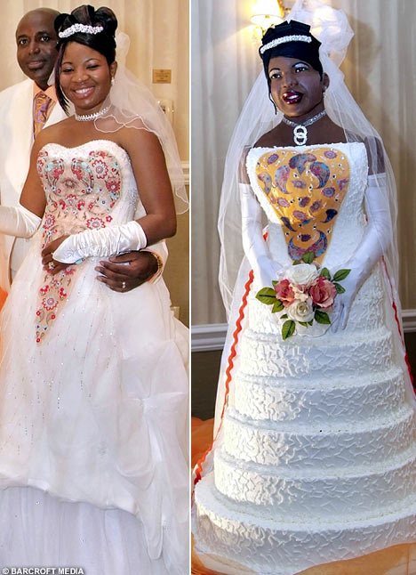 Life-Size Bridal Wedding Cake