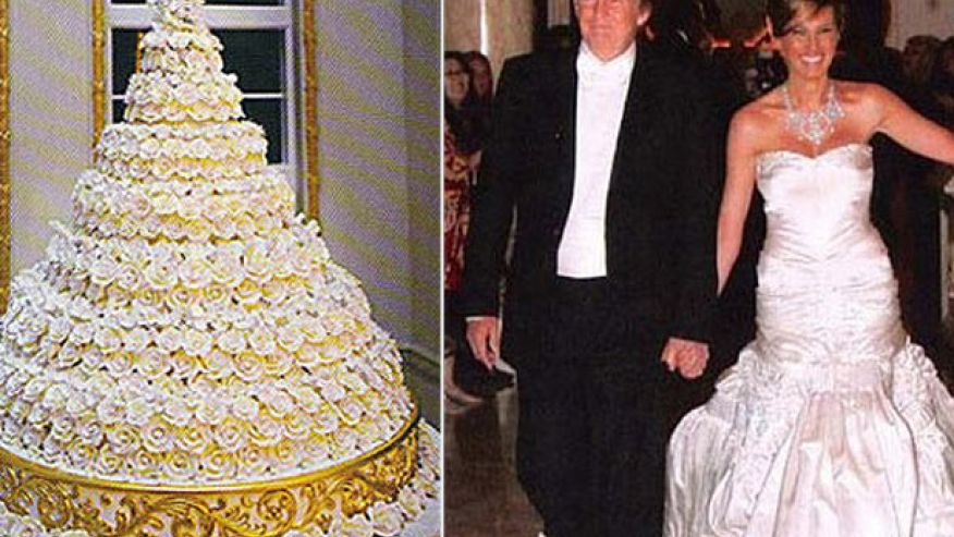Donald Trump Wedding Cake