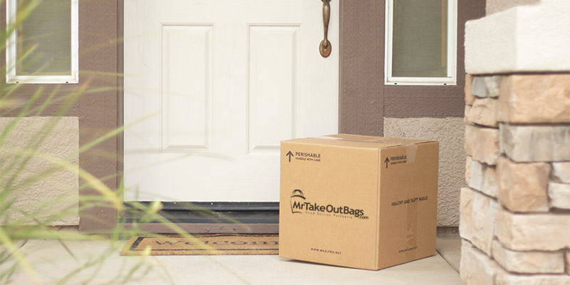 box on porch