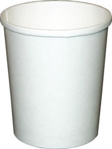 32 oz Cups | White Paper Cups | Quart Ice Cream Containers