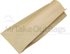 Brown Natural Kraft Paper Bread Bag 7