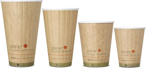 double wall biodegradable insulated coffee cups