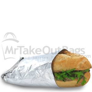 Insulated Foil Sandwich Wrap Sheets Deli Wrap Paper