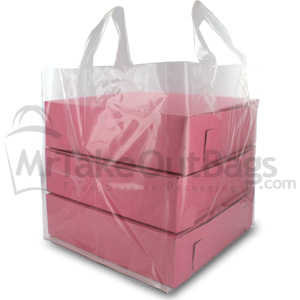 Clear Cupcake Bags | Clear Plastic Cupcake Bags | MrTakeOutBags