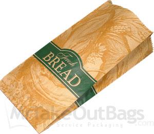 Medium Loaf Paper Bread Bags