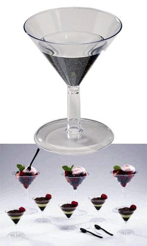 Mini Plastic Martini Glasses Disposable Martini Glasses