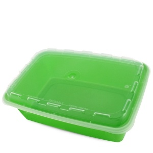 Lime Green Plastic Meal Prep / Takeout Container  sc 1 st  MrTakeOutBags & 38 oz.Lime Green Plastic Meal Prep / Takeout Container | Meal Prep ...