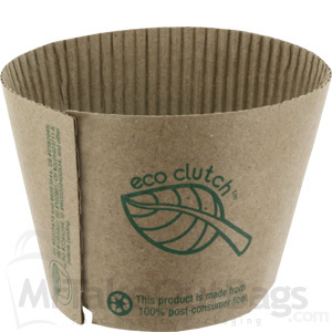 Eco Clutch Coffee Cup Sleeves Fits 12 16 20 Oz Cups