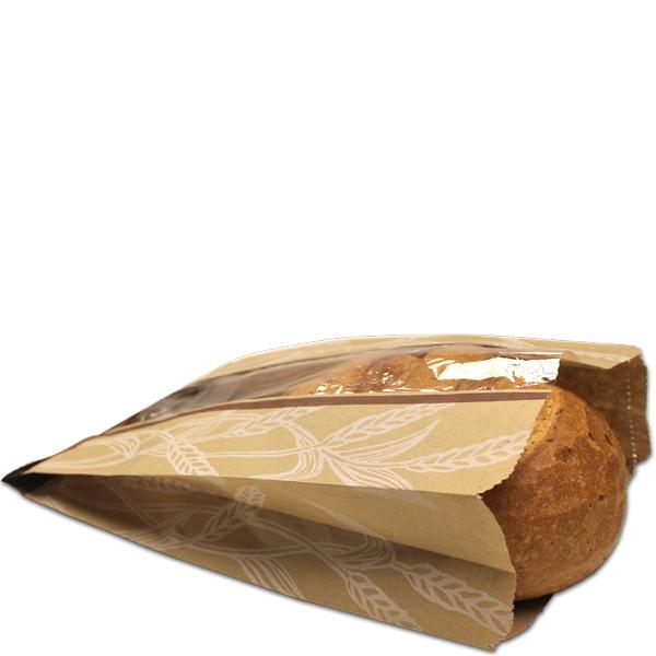 Custom Printed Paper Bread Bags,bread Paper Bag