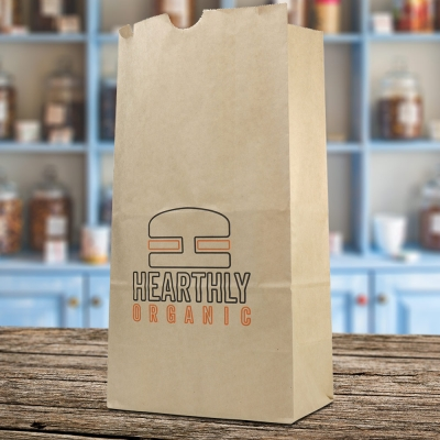 Custom Paper Lunch Bags And Grocery