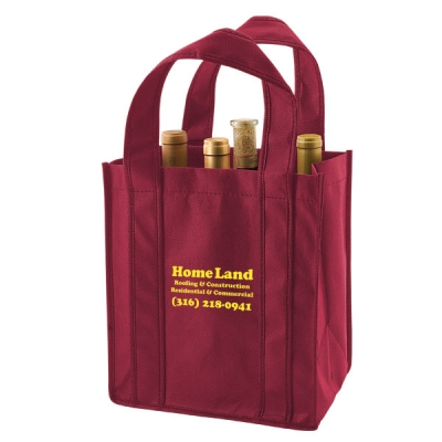 custom wine totes custom tote bags bulk mrtakeoutbags