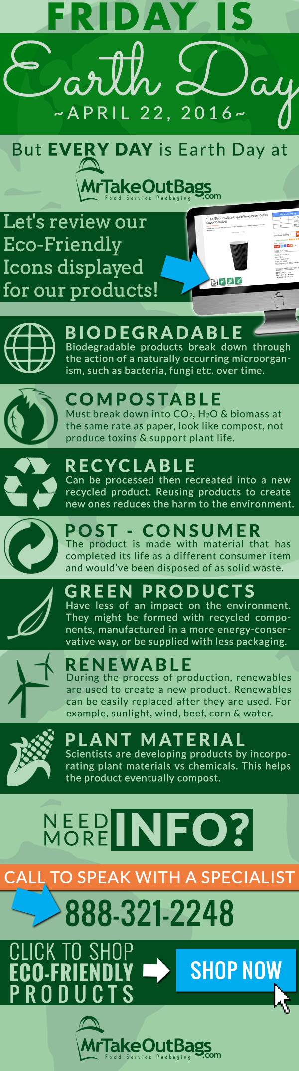 Eco Friendly Product Icon Infographic