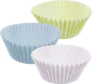 Regular Cupcake 2 Oz Pastel Fluted Paper Baking Cups