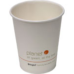 Planet+ Compostable Paper Coffee Cups