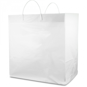 Hdpe Heavy Cake Plastic Ping Bags With Rigid Handle 14