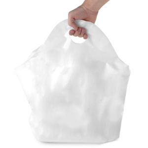 Tamper Evident Plastic Takeout Bags