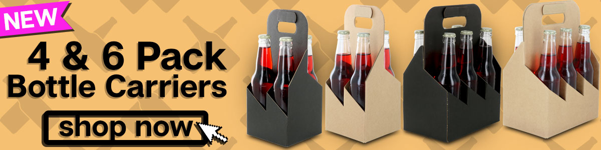 4 and 6 bottle bottle carriers