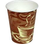Swirl Design Paper Coffee Cups