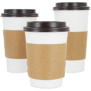 0f888740270 Coffee Sleeves Wholesale - Paper Coffee Sleeves | MrTakeOutBags.com