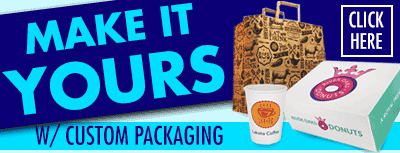 Custom Food Packaging & Logo Takeout Bags, Boxes and More