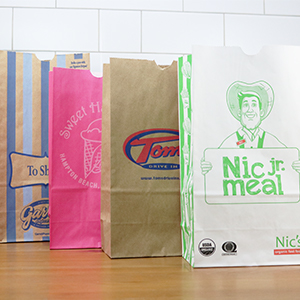 Custom Paper Lunch Bags and Grocery Bags   Custom Food